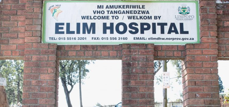 Illegal water connections leave a Limpopo hospital dry