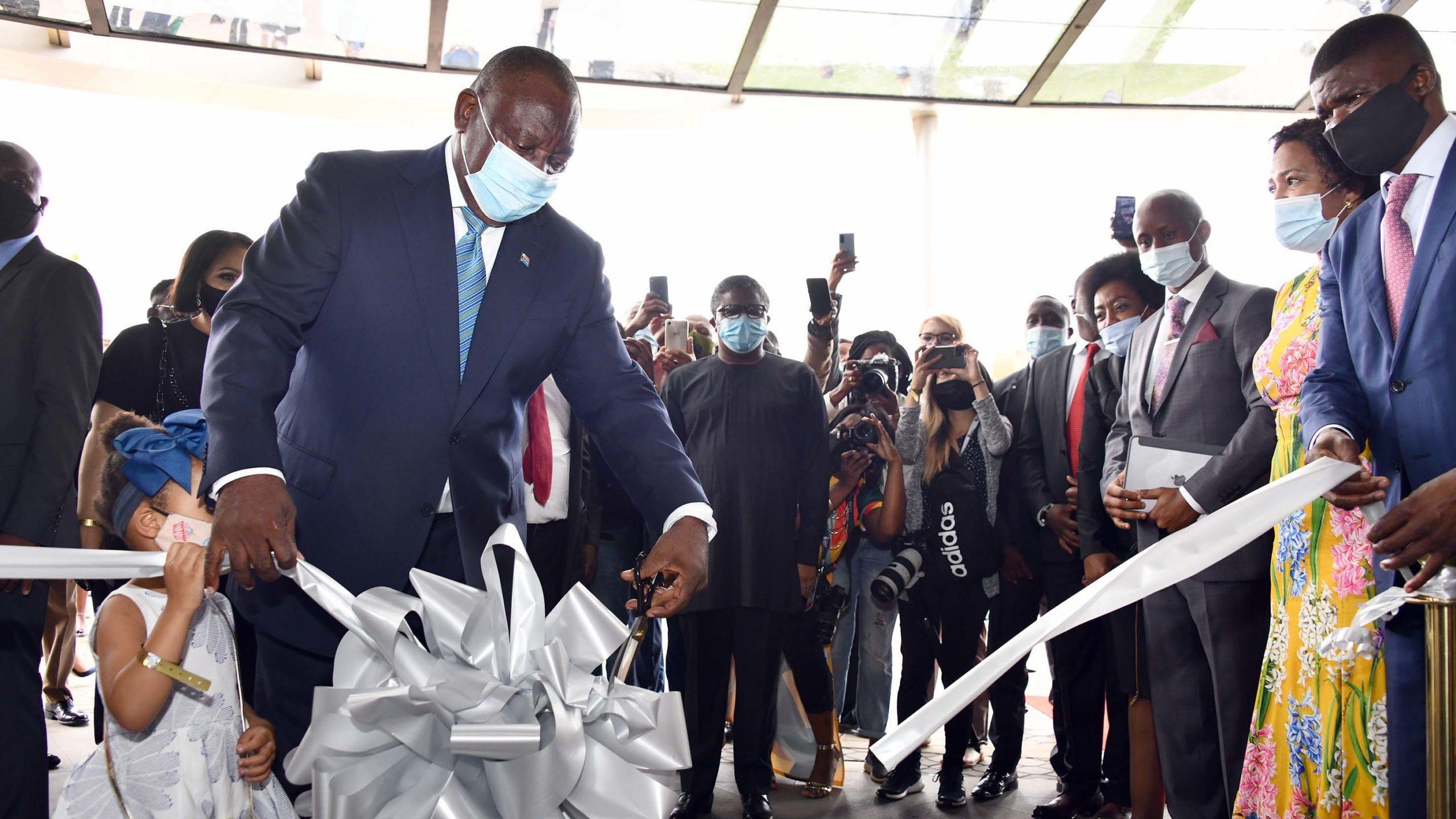Covid-19: Ramaphosa in self-quarantine
