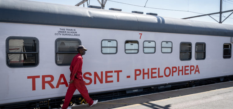 The Covid-19 pandemic could not derail the Phelophepa Health Train as it arrives at a new stop
