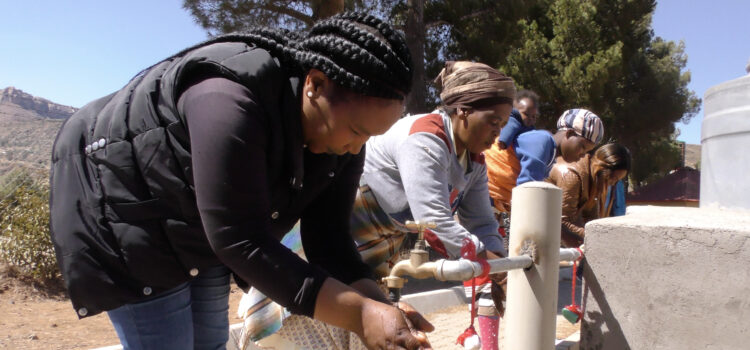 Handwashing stations installed in Limpopo to fight the Covid-19 pandemic