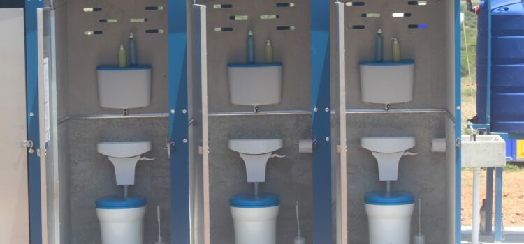 This new technology can help South African schools still struggling with pit latrines