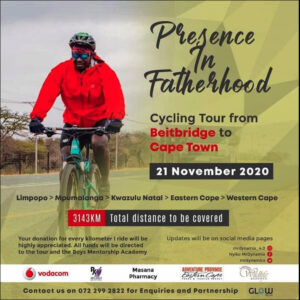 Advert for Presence in Fatherhood campaign