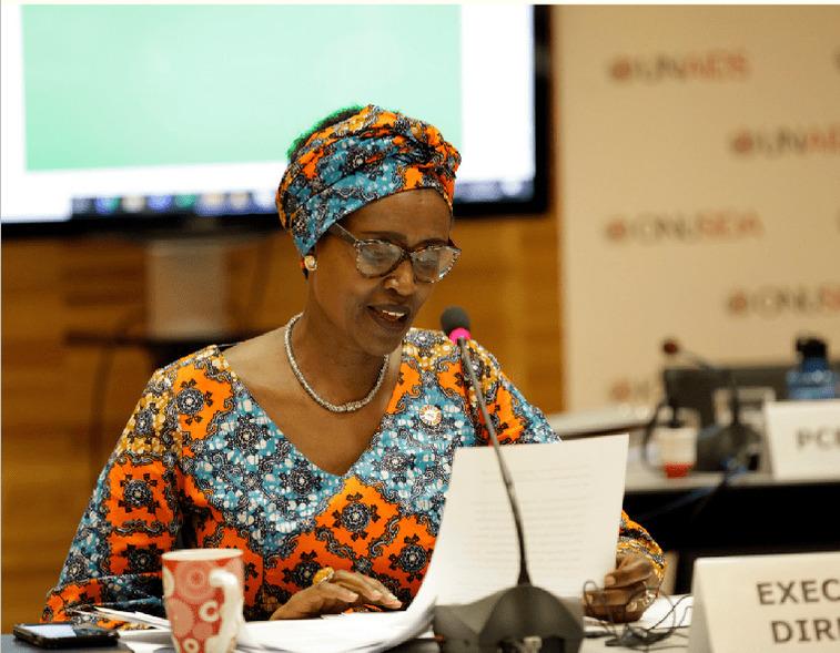 Winnie Byanyima UNAIDS Director