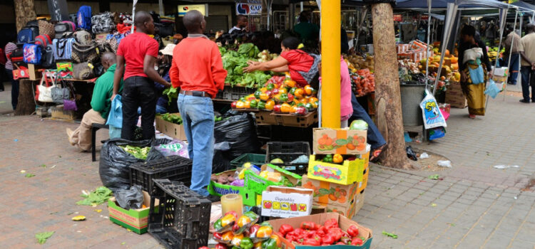 Some food prices actually dropped in January, but people are short of cash