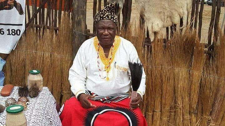 Dr Sylvester Hlathi of the SADC Traditioal Healers