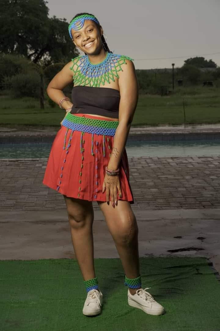 Nadine Motshegwe a cancer survivor
