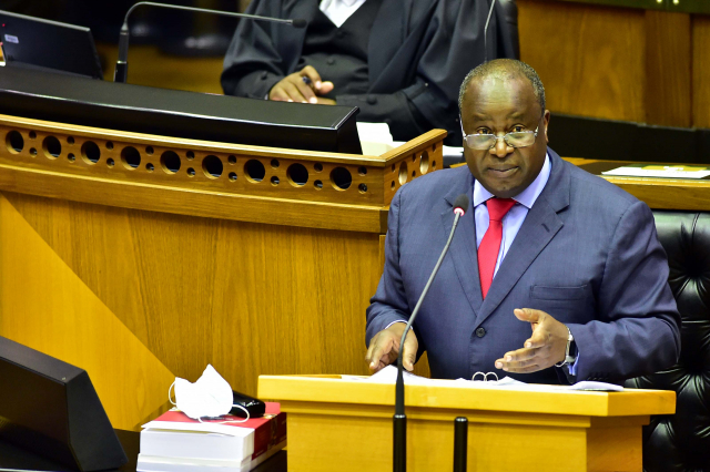 Tito Mboweni and South Africa's budget 2021
