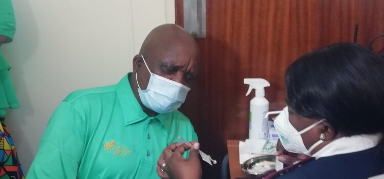 Covid-19: Staff at George Mukhari Academic Hospital join thousands of vaccinated healthcare workers