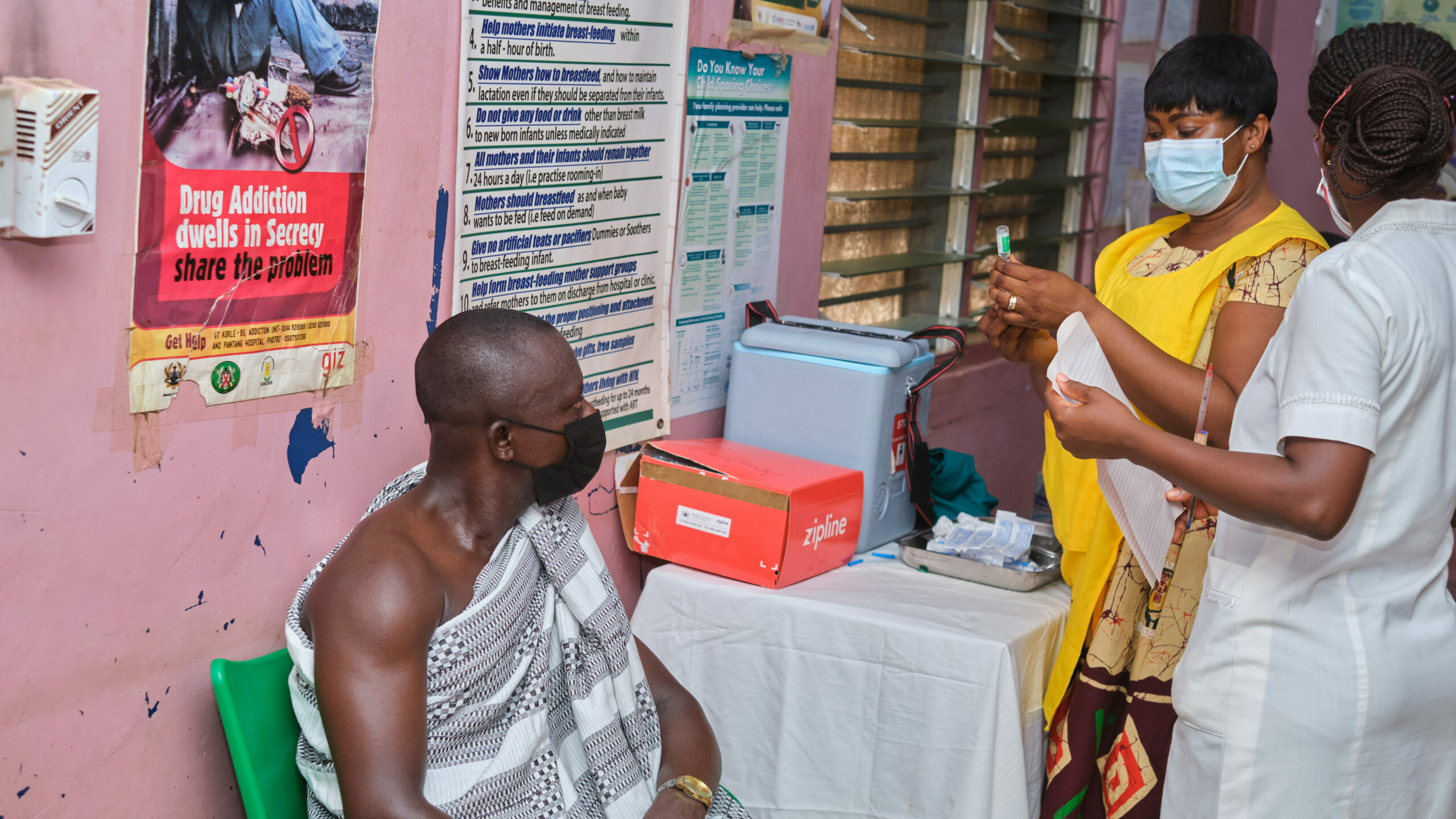 Covid-19 vaccines arrive in Africa