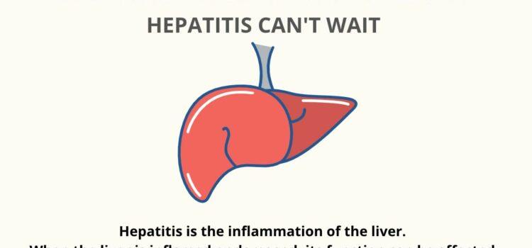 World Hepatitis Day 2021: Hepatitis Can't Wait