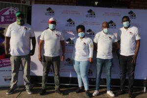 Tsa Semzini donates 1000 dignity packs to schoolgirls in Mpumalanga.