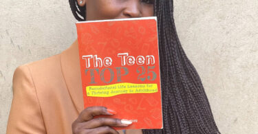 Joey Dlamini hopes her book can help parents guide their kids through adolescence.
