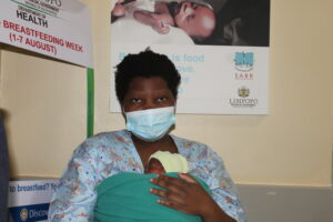 Thuagai Mpofu would love to donate her breastmilk to other babies.