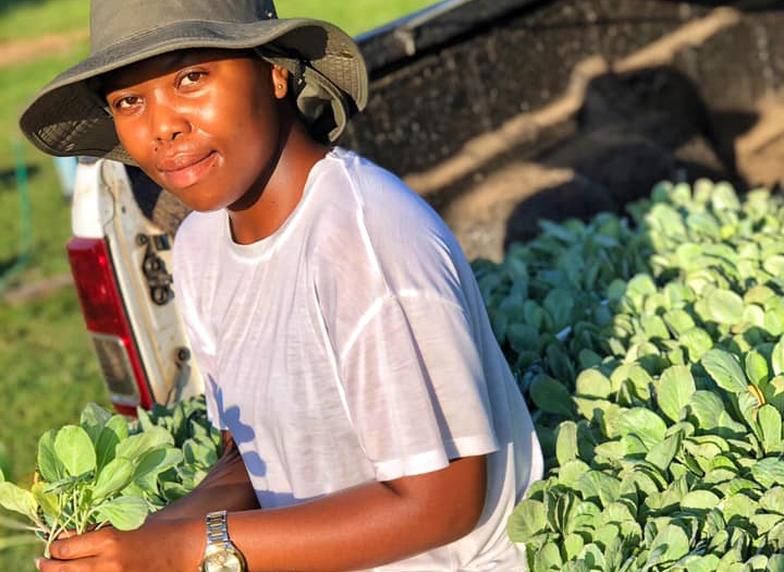 Young farmer wants to grow her dreams