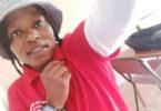 Community mourns rape, murder of lesbian health worker.
