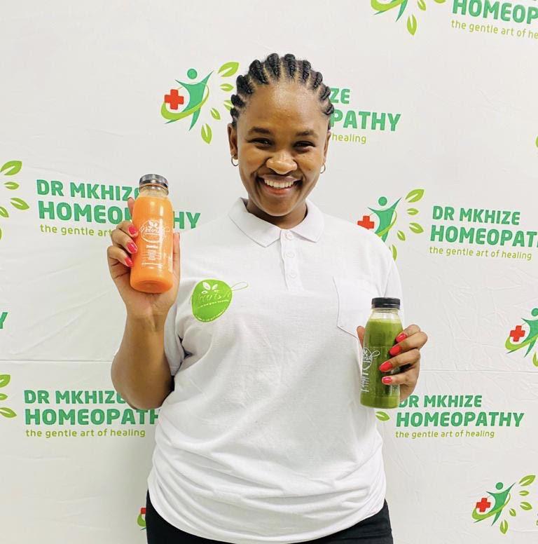 KZN businesswoman launches new juice range.