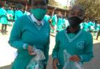 NPO Tsa Semzini donated over 1000 dignity packs to schoolgirls in Phake, Mpumalanga.
