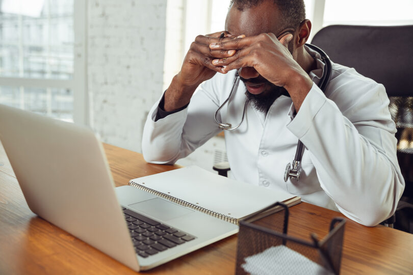 South Africans are suffering from severe psychosocial stress.