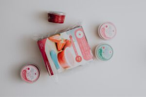 The Tummies Full of Love range includes tubs of homemade baby food.
