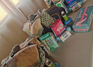 Some of the essentials as collected by Limpopo mom, Tshepiso Molemela.