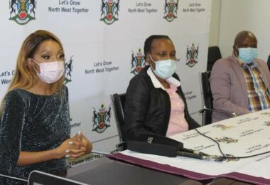 Dr Thato Mosehle has been appointed as the lead ambassador for the North West Province's vaccine rollout program.