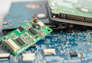 E-waste is is growing at a rate three times faster than any other form of waste.