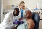 Early detection remains crucial in treatment of breast cancer in men.